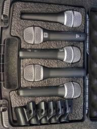 Kit de microfones Superlux