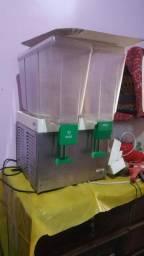 Refresqueira 2 cubas, faz 20 litros de suco