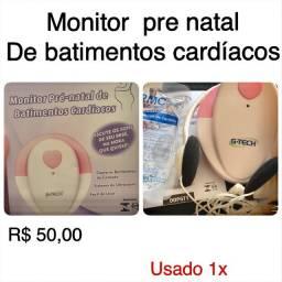 Monitor pre natal de batimentos cardiacos