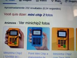 Minichip2, da PagSeguro. Máquina eficiênte