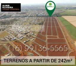 Loteamento Jardim Sul - Terrenos a partir de 242m² próximo ao Pq. do Cristo!
