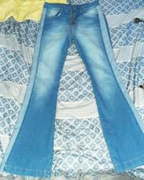 Calça jeans e short jeans