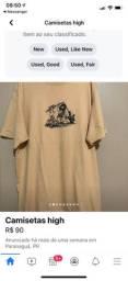 camiseta high cave original