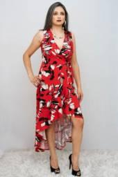 Vestido Floral Flor de Cacau