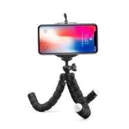Tripé Celular Portátil Mini Suporte Flexível de Apoio (envio gratuito)