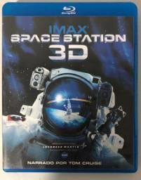Imax Space Station 3D Blu-ray Disc Original Seminovo