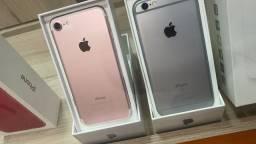 iPhone 7 rose 32gb com garantia lona física