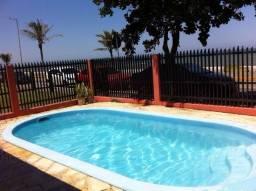 Fantástica casa frente para o mar com piscina em Barra Velha/SC no Tabuleiro