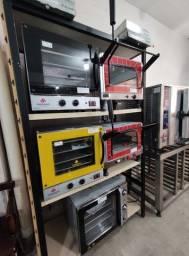 Título do anúncio: Fornos profissionais para cozinhas industriais novos entregamos em todo RS!