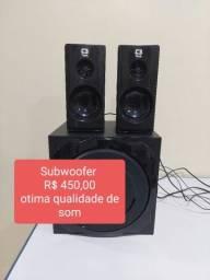 Título do anúncio: Subwoofe com ótima qualidade de som/Caixa de som