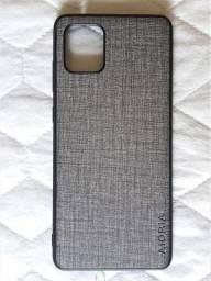 Capinha Tecido Slim Galaxy Note 10 Lite