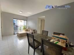 Apartamento em Campo Grande, 60m2, 2 quartos sociais, sem taxa de condomínio