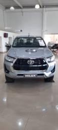 Título do anúncio: Toyota Hilux SRV Flex 4x2 21/21