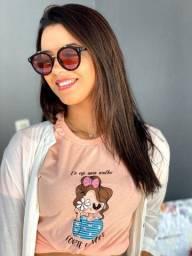 Blusas T shirt bordadas