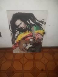 Quadro Bob Marley 85x60cm