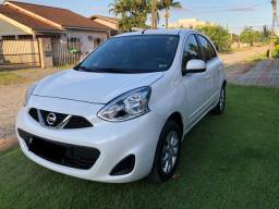 Nissan March sv 1.0 12v ano 2019 R$36.900