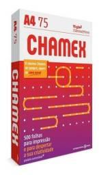 Papel Sulfite Folha Impressão Chamex A4 Pacote 500 Folhas