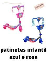 Título do anúncio: Patinete 3 Rodas Infantil Musical Luzes novo