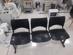 Título do anúncio: Cadeira Longarina 03 Lugares
