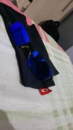 Lupinha do vilão preta lentes azul