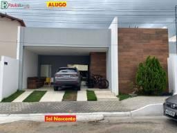 Título do anúncio: Alugo Casa no Condomínio Sol Nascente
