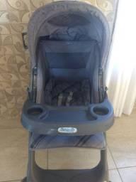 Carrinho e bebê conforto da marca Burigotto