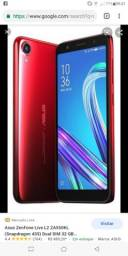 Zenfone live L2 32 GB e um j5 pro fautando display