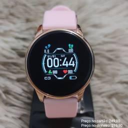 Relógio feminino digital inteligente smartwatch Lige