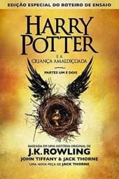 Título do anúncio: Livro - Harry Potter E A Criança Amaldiçoada Parte 1 E 2-adm