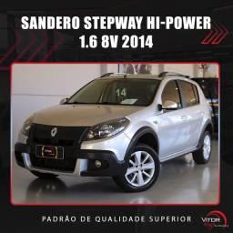 Título do anúncio: Renault SANDERO STEPWAY Hi-Power 1.6 8V 5p 2014 Flex