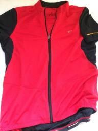 Camisa de Ciclismo Pearl Izumi vermelha tamanho M