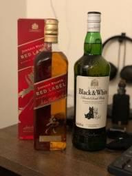 Título do anúncio: RED LABEL e BLACK & WHITE 1L