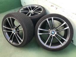 Rodas BMW com Pneus SemiNovos- Oportunidade