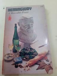 """Livro """"a moveable feast"""" 1964"""