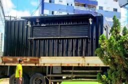 Alugo Food Container para área externa do seu pub ou restaurante