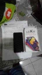 Título do anúncio: Lg k22 na caixa
