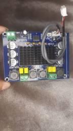 Faça caixa de som c/ Placa de amplificador 240w 12v