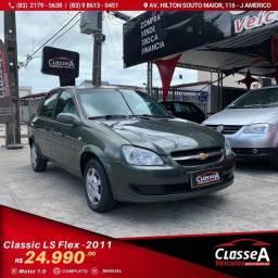 Título do anúncio: CLASSIC LS VHC Flex 2011 Completo Extra