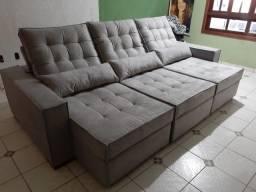 Sofá de Luxo sob medida, molas ensacadas a partir de R$ 1.899,99