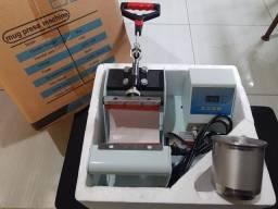 Máquina de estampar caneca