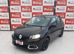 Título do anúncio: Renault Sandero Authentique 2015 1.0 Manual Raridade