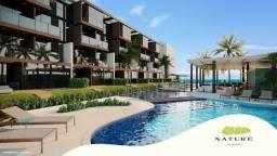 Título do anúncio: Apartamento Térreo c piscina privativa 3 quartos em Condomínio Beira mar em Muro Alto