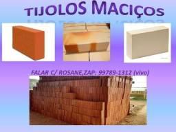 Tijolos Maciços (Vermelho) R$ 1,30