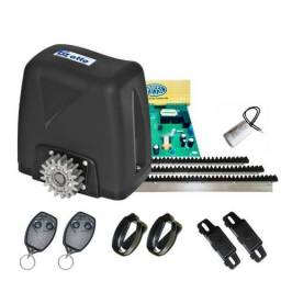 Kit portão eletrônico deslizante Rossi DZ Atto 1/5 HP- Peso do portão 350 (Kg)
