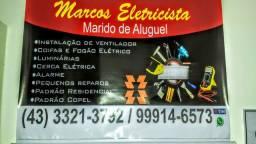 Eletricista Cerca Elétrica Cftv Portão Alarme Concertina