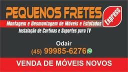 Pequenos fretes e montagem e desmontagem de móveis e estofados 045.9.9985.6276 Odair