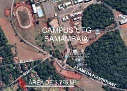 Área 3.775 m² Próximo a UFG Campus Samambaia P/ Lazer e moradia! Oportunidade