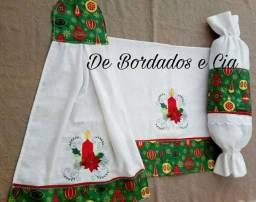Bordados para seu Natal