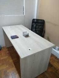 Mesa diretor de escritório c/2 Gav legno com chave