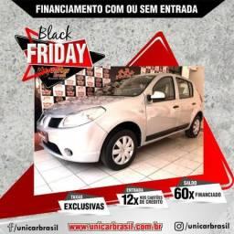 Sandero 1.0 Entrada R$3.000,+48x R$639,00 - 2011